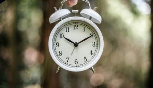 記憶力がアップする生活習慣(早寝早起き)